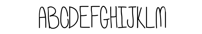 Wassup Font UPPERCASE