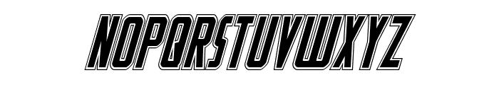 Watchtower Academy Italic Font UPPERCASE