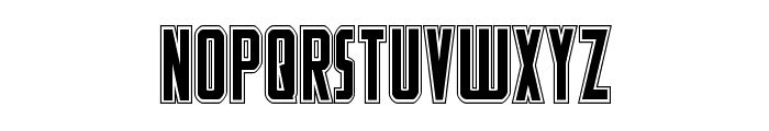 Watchtower Academy Regular Font LOWERCASE