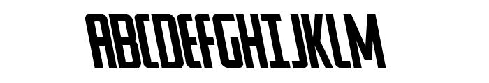 Watchtower Leftalic Font UPPERCASE