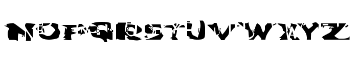 Water Torture Font UPPERCASE