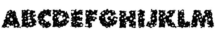 Waterhole Font UPPERCASE