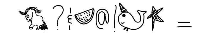 WatermelonParty Font OTHER CHARS