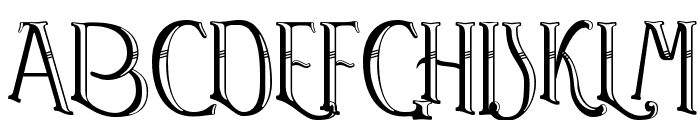 Watson Font UPPERCASE