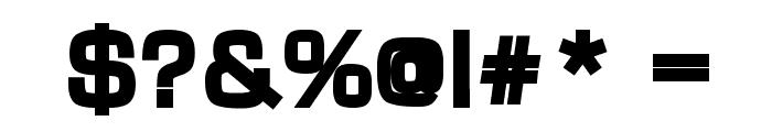 Waukegan LDO Black Font OTHER CHARS