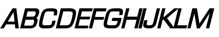 Waukegan LDO Bold Oblique Font UPPERCASE