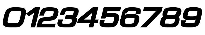 Waukegan LDO Extended Black Oblique Font OTHER CHARS