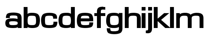 Waukegan LDO Extended Bold Font LOWERCASE
