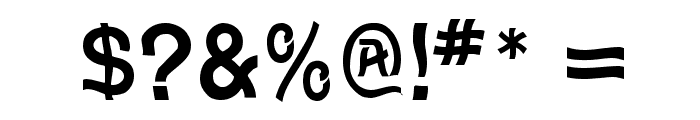 Wave Font OTHER CHARS