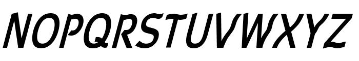 Waverley Bold Italic Font UPPERCASE