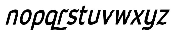 Waverley Bold Italic Font LOWERCASE