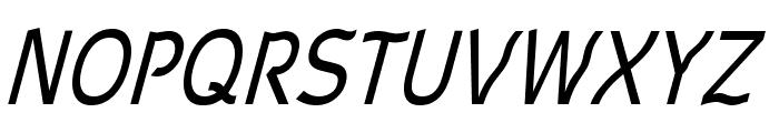 Waverley-Italic Font UPPERCASE