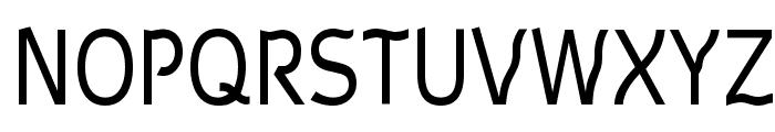 Waverley Font UPPERCASE