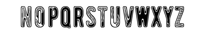 Waveternity Font UPPERCASE