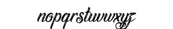 Waving at Christmas Font LOWERCASE