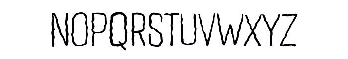 Wavy Lines Font UPPERCASE