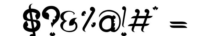 Wayang Patran Regular Font OTHER CHARS