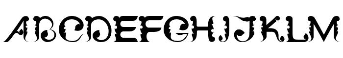 Wayang Patran Regular Font UPPERCASE