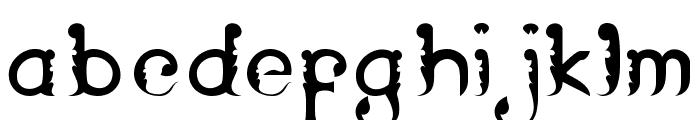 Wayang Patran Regular Font LOWERCASE