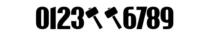 Wayland DEMO Regular Font OTHER CHARS