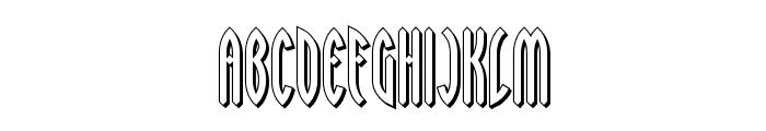 Wayward Shadow BRK Font UPPERCASE
