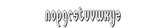 Wayward Shadow BRK Font LOWERCASE
