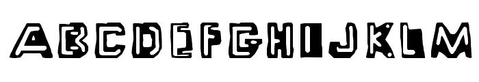 Wayzgoose PS Small Caps Font UPPERCASE
