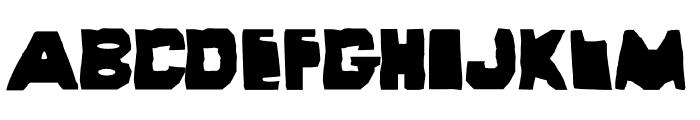Wayzgoose Strut Font UPPERCASE