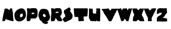 Wayzgoose Strut Font LOWERCASE