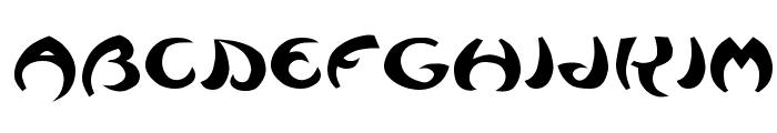 Waziri Font LOWERCASE