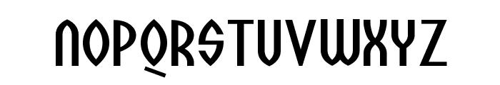 Wazoo Font UPPERCASE
