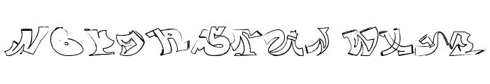 wassimo graffiti Font UPPERCASE