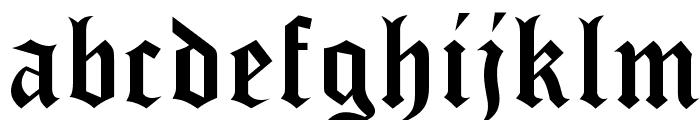 waxwork DEMO Font LOWERCASE