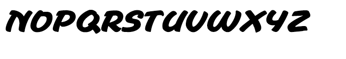 Waityweight Bold Font UPPERCASE