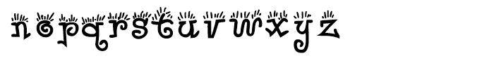 Waker Regular Font LOWERCASE