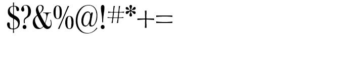 Walburn Light Font OTHER CHARS