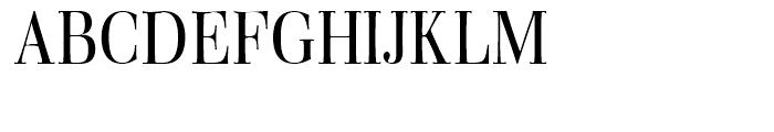 Walburn Light Font UPPERCASE