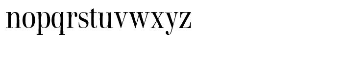 Walburn Light Font LOWERCASE