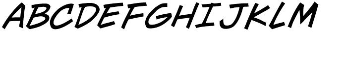 Wall Scrawler Intl Italic Font UPPERCASE