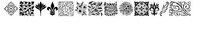 Wallflowers Regular Font UPPERCASE