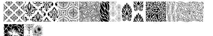 Wallflowers Regular Font LOWERCASE