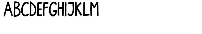 Walpurga Bold Font UPPERCASE