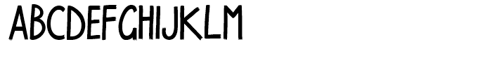 Walpurga Bold Font LOWERCASE