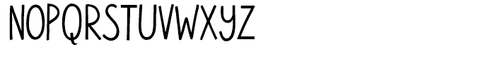 Walpurga Regular Font LOWERCASE