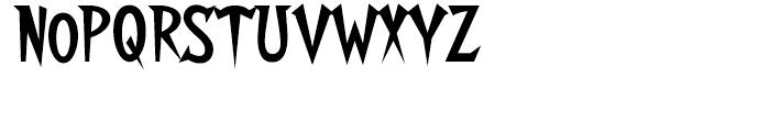 Walshes Regular Font UPPERCASE
