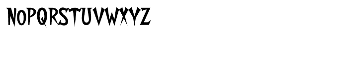 Walshes Regular Font LOWERCASE