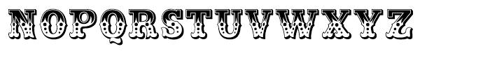 Wanderer Regular Font UPPERCASE