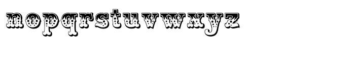 Wanderer Regular Font LOWERCASE