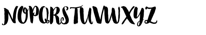Wanderlust Chic Pro Font UPPERCASE