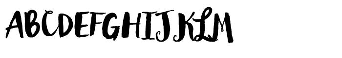Wanderlust Letters Pro Font UPPERCASE